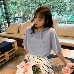 4948e0d321e794 T-shirts Women Trendy Summer High Quality All-match Elegant Tee Womens  Korean Style Letter Printed Simple Loose Female Top Solid