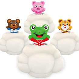 $enCountryForm.capitalKeyWord Australia - New Arrival Little Grizzly Baby Bath Toy Funny Bath Bubble Maker Pool Swimming Bathtub Soap Machine Toys For Children Kids