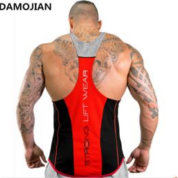 $enCountryForm.capitalKeyWord Australia - Damojian 2017 Brand Mens Sleeveless T Shirts Summer Men Tank Tops Clothing Bodybuilding Undershirt Casual Fitness Tank Tops Tees