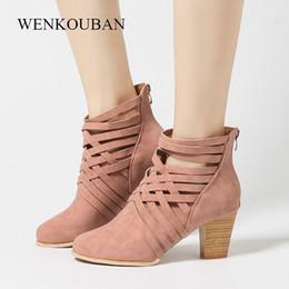 ab6c489c94af Designer Dress Shoes Women High Heels Summer Sandals ladies Round Toe Zip  Square Heel Sandalias Casual Zapatos Mujer Plus Size 35-43