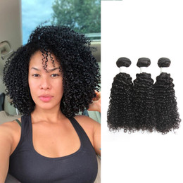 Wholesale Dressmaker Malaysian Kinky Curly Human Hair Bundles Extensions Bundles Unprocessed Curly Weave Natural Black Hair