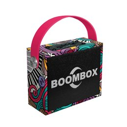 $enCountryForm.capitalKeyWord Australia - Fashion street Cool Wireless Bluetooth Speaker Stereo Bass Subwoofer AUX IN Graffiti Printing 10W Computer Speakers Support FM MIC For phone