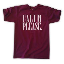 9549d84b81b CALUM PLEASE T-SHIRT - ALL COLOURS SIZES S M L XL - HOOD 5SOS Funny free  shipping Unisex Casual Tshirt top