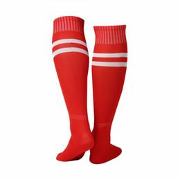 e9c5615ba90 1 Pair Sports Socks Knee Legging Stockings Soccer Baseball Football Over  Knee Ankle Men Women Socks Hot Sale Dropshipping