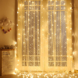 figure candles NZ - Wedding Curtain LED Lights Decoration Garland String Christmas Lights New Year Party Fairy Lights Holiday LED String Lighting