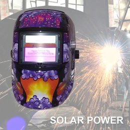 Mask auto solar online shopping - Welding Helmet Auto Darkening Solar Power Welding Helmet Welder Mask Tig Protector Sparkproof Weld Grinding Hood