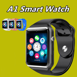 $enCountryForm.capitalKeyWord Australia - High quality A1 Smart watch Bluetooth Smartwatch clock Sync Notifier Support SIM TF Card Connectivity for IOS iPhone & Samsung Android Phone