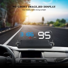 $enCountryForm.capitalKeyWord Australia - ead-up Display HUD Head Up Display Car GPS Speedometer Windshield Projector With Reflection Board Mirror C500 OBD2 T900 Gauge Diagnostic ...