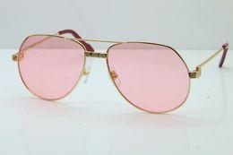 Опт 2019 бесплатная доставка солнцезащитные очки мужчины дизайнер 1324912 очки модные солнцезащитные очки бренда женщина изысканные очки кадр новый розовый объектив