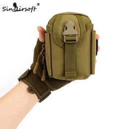 Molle systeM pouches online shopping - SINAIRSOFT New MOLLE System accessory bag Climbing Bags Camping Sport Pouch Army Durable Travel Hiking Molle bags