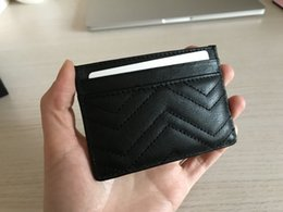 $enCountryForm.capitalKeyWord Australia - Women Fashion Classic Design Casual Credit Card ID Holder Hiqh Quality Real Leather Slim Wallet Packet Bag For Womans S356
