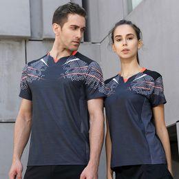 Sportswear T Shirt Badminton Australia - 2018 New Men Women Badminton Jersey clothing,lovers sportswear shirts,table tennis Training T-shirt clothes Shirt Sportswear