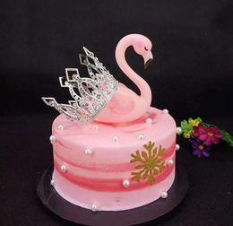 $enCountryForm.capitalKeyWord NZ - New Korea 6-inch Birthday Baking Decoration with Stereo Alloy Embedded Crown Cake for Children