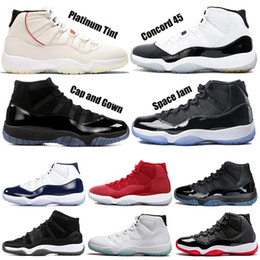 Prom flats shoes online shopping - Concord s Mens Basketball Shoes Cap and Gown Prom Night Platinum Tint Bred Gamma Blue Outdoor Athletic Sports Sneakers