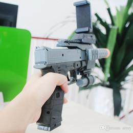 Bluetooth Toys Australia - Ar-gun Vr Game Augmented Reality Shooting Games Smart Phones Bluetooth Control Toy Gun Short Style Fashion