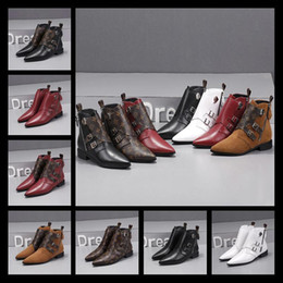 canvas shoe painting designs Australia - iduzi Ladies short boots 100% cowhide Classic Design Luxury women Shoes Leather High-heeled women boots metal buckles zipper Fashion boots