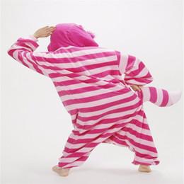 34b3ffe29d ne piece costume New Winter Sleepsuit Adult Spring Autumn Onesies Cartoon  Cheshire Cat Pajamas Unisex Women Men Pajama One Piece Cosplay .