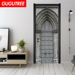 $enCountryForm.capitalKeyWord UK - Decorate Home 3D church wall door sticker decoration Decals mural painting Removable Decor Wallpaper G-789