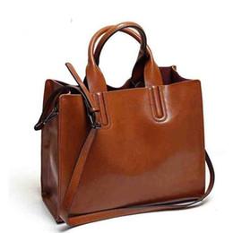 8ff148abd8 SpaniSh leather handbagS online shopping - Hot Leather Handbags Big Women  Bag High Quality Casual Female