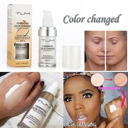 $enCountryForm.capitalKeyWord Australia - SALE Flawless Color Changing Foundation Makeup Base Nude Face Liquid Cover Concealer Long Lasting Pre Makeup Sun Block Pores Drop Shipping