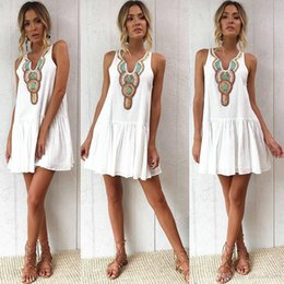 769bc7c9c0b Cheap Clothes lines China online shopping - Cheap Summer Women clothes  Bohemia Print Beach Dresses Loose