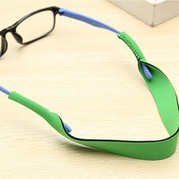 bbc678222cb 40.8cm Spectacle Glasses Anti Slip Strap Stretchy Neck Cord Outdoor Sports  Eyeglasses String Sunglass Rope Band Holder