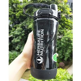 $enCountryForm.capitalKeyWord Australia - New Arrival High Quality 5 Candy Color 1000m1l Portable Space Herbalife Nutrition Custom Straps Straw Water Bottle Y19070303