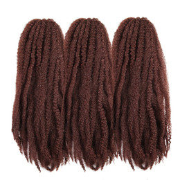 $enCountryForm.capitalKeyWord UK - Synthetic Hair Extensions Afro Kinky Marley Braids Crochet Braids Twist Black Red Pink Brown Soft Braiding Hair