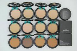 $enCountryForm.capitalKeyWord Australia - Hot sale New Foundation Brand Make-up Studio Fix Powder Cake Easy to Wear Face Powder Blot Pressed Powder Sun Block Foundation 15g