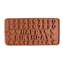 $enCountryForm.capitalKeyWord Australia - silicone modes cake decorating tools silicone chocolate mold letter and number fondant molds cookies bakeware tools