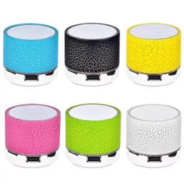 Free calling computer online shopping - New LED mini wireless bluetooth speaker TF USB FM portable musical subwoofer loudspeakers hand free call for phone