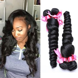 $enCountryForm.capitalKeyWord Australia - Great Quality 3pcs Malaysian loose wave Human Hair Bundles Cheap weaves Remi Weave Unprocessed Big Curly Hair Extensions Natural Wave