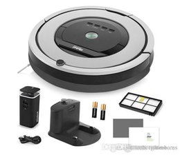 $enCountryForm.capitalKeyWord Australia - Top Designer Grey iRobot Roomba 860 Vacuum Cleaning Robot Dual Mode Virtual Wall Barrier with Batteries Extra High Efficiency Filter Outlet