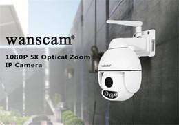 5x Zoom Camera Australia - 2019 HOT ITEM HW0054 Outdoor PTZ 5X Optical Zoom 1080P IP WiFi Camera Security Dome ONVIF P2P Night Vision Waterproof IP66