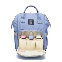 $enCountryForm.capitalKeyWord Australia - Mummy Maternity Nappy Bag Large Capacity Infant Baby Travel Backpack Bottles Storage Nipple Nursing Bags For Baby Care T0567 MX190727