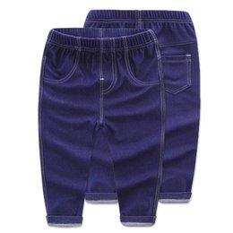 $enCountryForm.capitalKeyWord UK - New Spring Boys Kids Skinny Jeans for Girls Baby Jeans Denim Pants Legs for Boys Jeans Cotton Girls Leggings