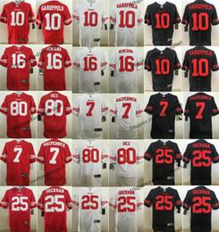 7986d0376 Elite San Francisco 4XL 49ers 10 Jimmy Garoppolo Football Jerseys 25  Richard Sherman 80 Jerry Rice 16 Joe Montana 7 Colin Kaepernick M-4XL