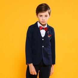 Discount piano suit - New Kids Boys Suit For Wedding Piano Party Teenage Boys Blazer+Vest+Pant+Shirt Sets Baby Boy Suits Formal Clothes 3 4Pcs