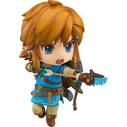 Link Action Figures Australia - Good Smile The Legend Of Zelda Breath Of The Wild Link Action Figure 733