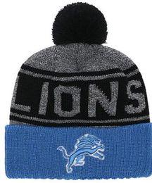 c689b8235 2019 Winter Detroit Beanie DET Skull Hats Knitted Wool Cuffed Sideline Cold  Weather beanies sport Knit Hat Bonnet Warm Hip Hop Cap 00