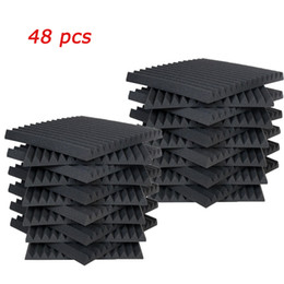 "Toptan satış 48 adet Akustik Paneller Studio Ses Köpük Kama 1"" x 12"" x 12"""