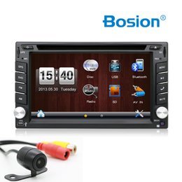 "Radio Gps Free Map Australia - Reverse Camera 6.2"" 2 Din Car GPS Navigation Stereo DVD Player Bluetooth iPod Radio FM AM Receiver MP3 Indash Head Unit Free map"