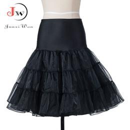 $enCountryForm.capitalKeyWord Australia - Tutu Skirt Swing Rockabilly Petticoat Underskirt Fluffy Pettiskirt For Wedding Bridal Vintage 50s Audrey Hepburn Women Ball Gown MX190714