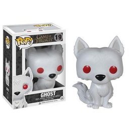 Toy Ghosts Australia - Funko Pop Game of Thrones Ghost Vinyl Action Figure With Box #173 Popular Toy Good Quality