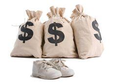 Пользовательские почтовые патча, чтобы составить разницу для увеличения цен на сумму обувь на Распродаже