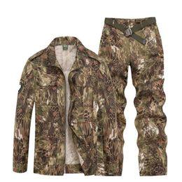 $enCountryForm.capitalKeyWord Australia - Outdoor Sport Hunting Clothes Camouflage Suits Tactical Shirt+Combat Cargo Pants Uniforme Militar Uniforms Ghillie Suit