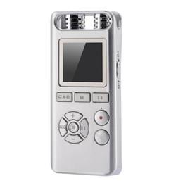 Stereo Recorder Australia - Mini Digital Voice Recorder Audio Recording Pen Smart 8GB Remote Sound Control Noise Reduction Stereo Lossless Music MP3