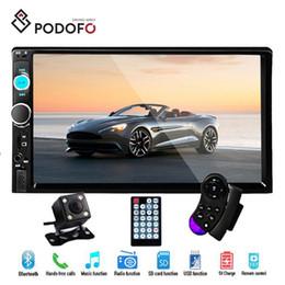 """$enCountryForm.capitalKeyWord Australia - Podofo 2Din Car Radio Autoradio Car DVD 7"""" HD MP5 Player Touch Screen Bluetooth Mirror Link USB FM SD 7023B + Rear View Camera"""