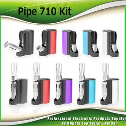$enCountryForm.capitalKeyWord NZ - Original Vapmod Pipe 710 Mod Starter Kits 900mAh Battery Vape Box Ecig Mods with 0.5ml Ceramic Coil Cartridge Tank Kit 100% Authentic