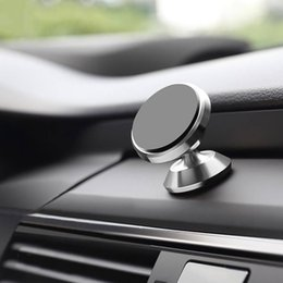 Magnetic Car Phone Holder 360 Rotation Air Vent GPS Mount Stand Phone Holder Car New from iphone arm phone holder manufacturers